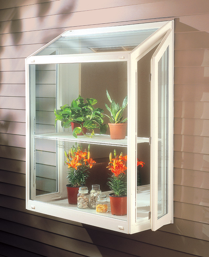 Kitchen Window Plant Shelf: Garden Window Installation In Binghamton NY